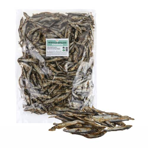 Dried Whole Baltic Sprats 1KG