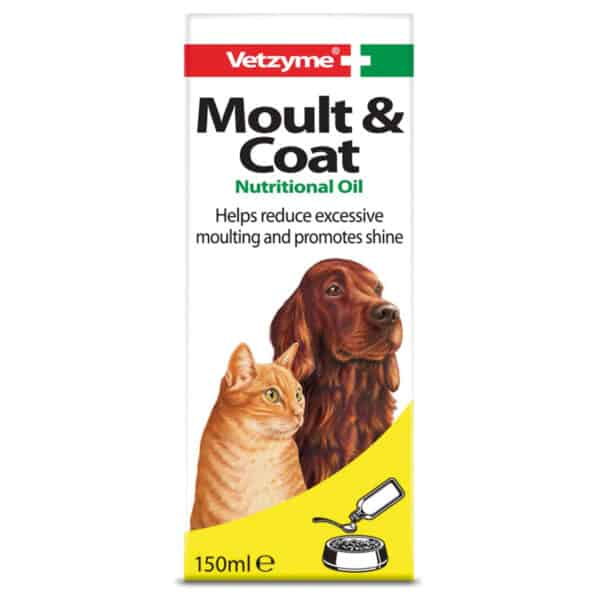 Vetzyme Moult and Coat