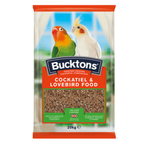 Bucktons Cockatiel and Lovebird Food