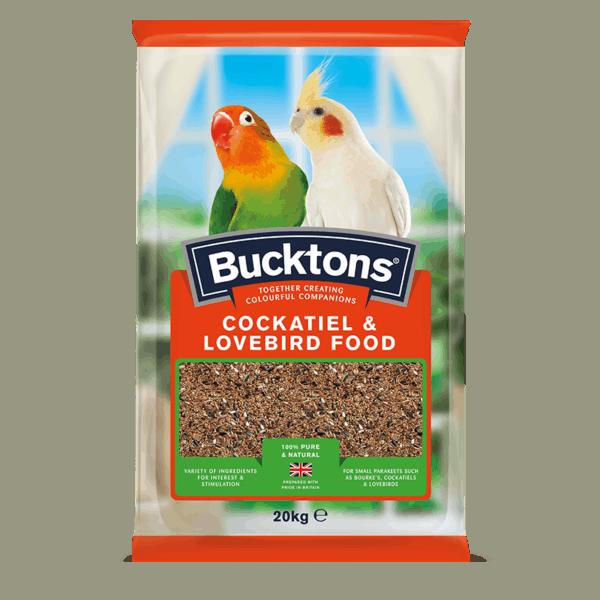 Bucktons Cockatiel and Lovebird Food