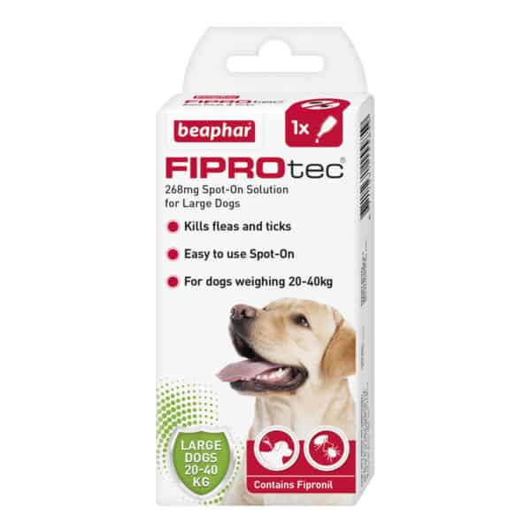 Fiprotec Large Dogs single
